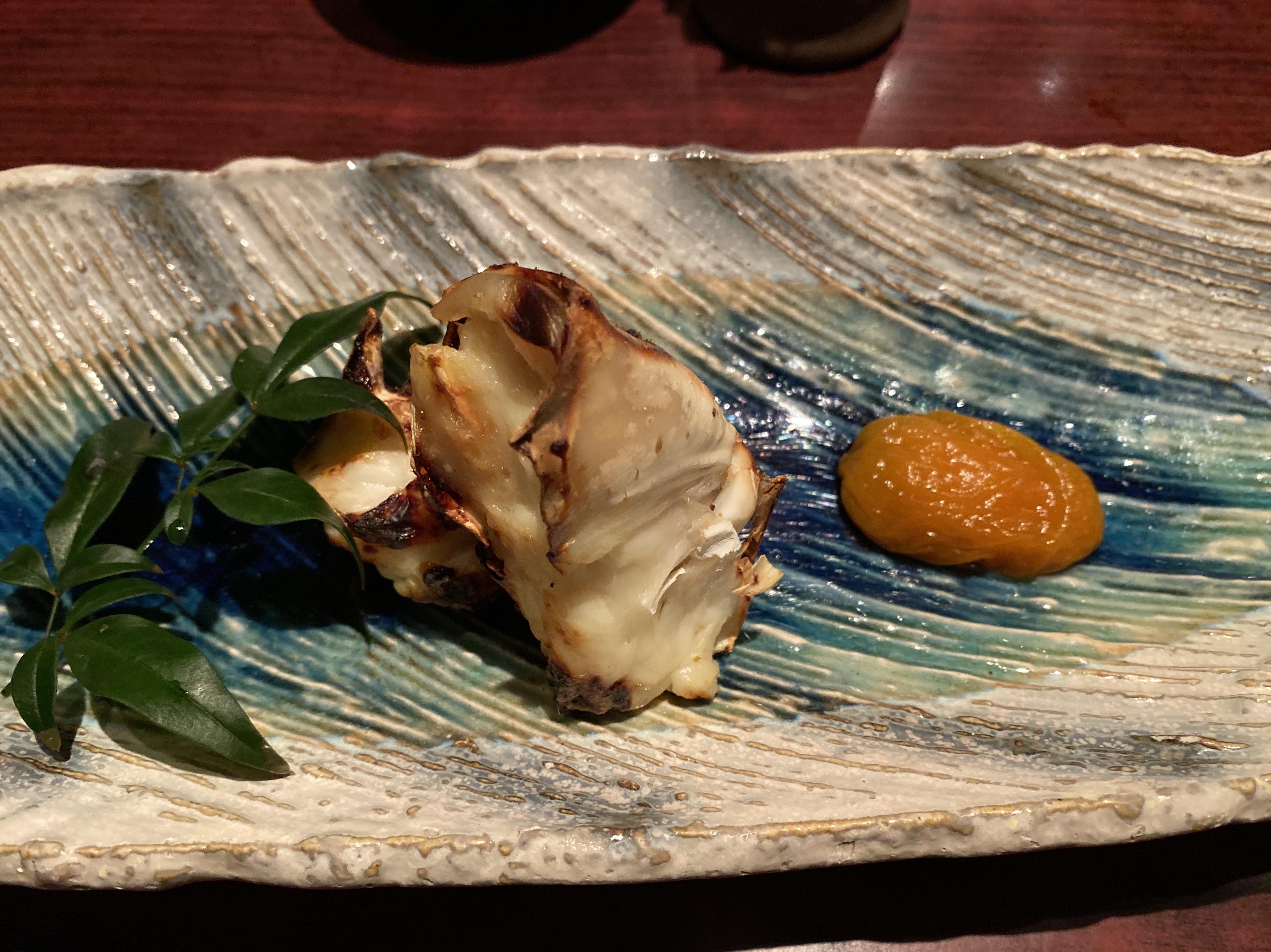 たらば蟹の西京焼き