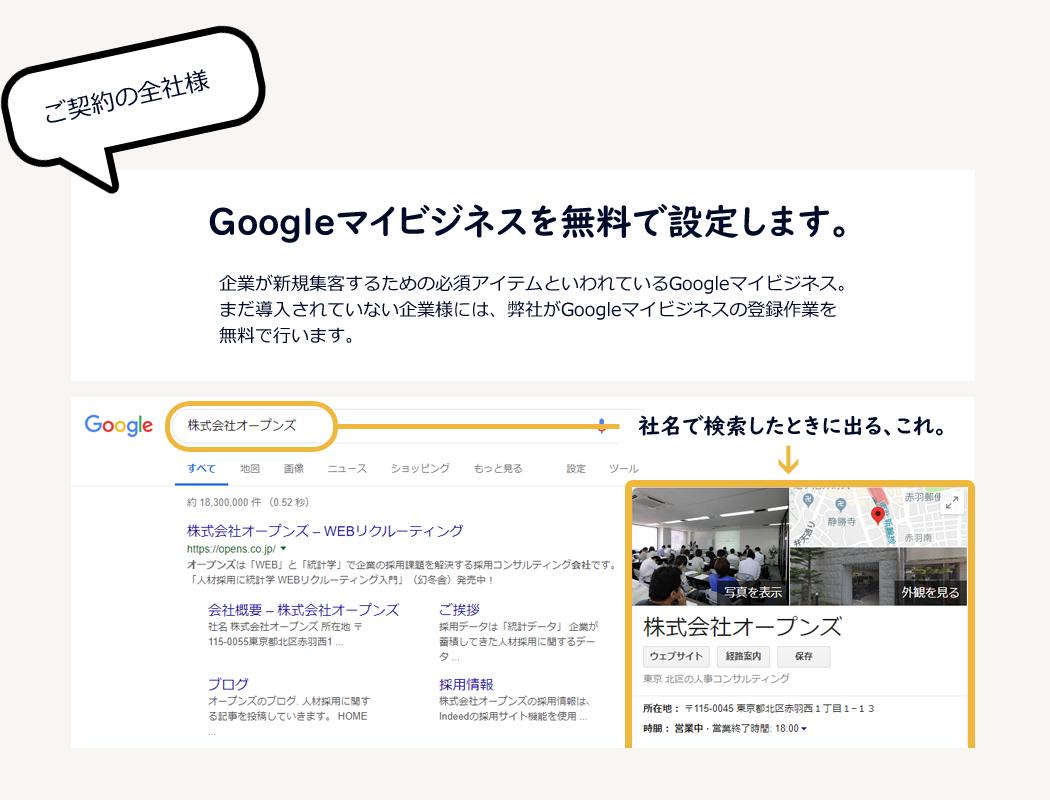 Googleマイビジネス無料設定